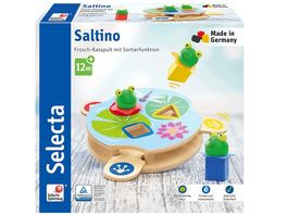 Selecta 62072 Saltino Frosch Katapult mit Sortierfunktion