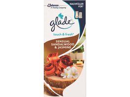 glade Touch Fresh Minispray Nachfueller Sensual Sandalwood Jasmine