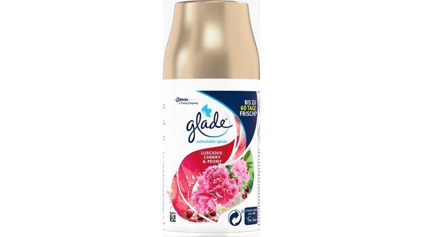 glade Automatic Spray Nachfueller Luscious Cherry Peony