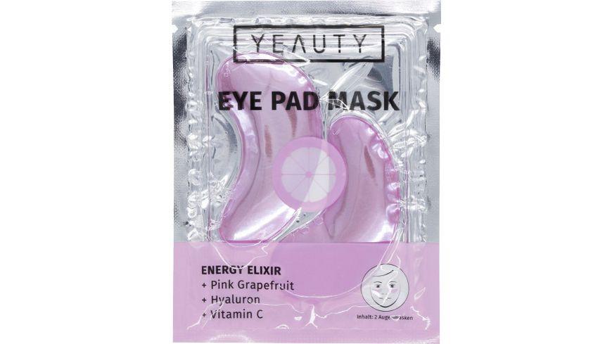 YEAUTY Energy Elixir Eye Pad Mask