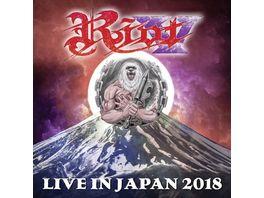 Live In Japan 2018 Blu ray 2CD