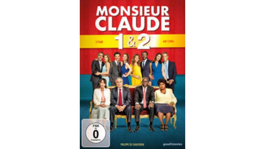 Monsieur Claude 1 2 2 DVDs