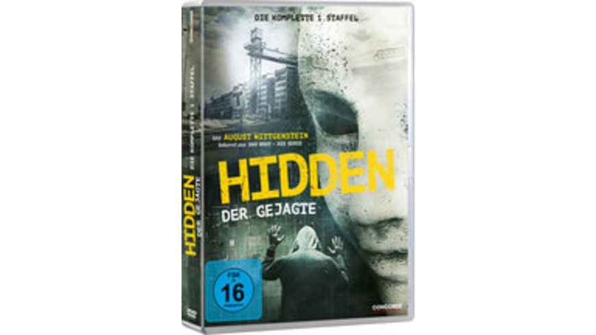 Hidden Der Gejagte Die komplette 1 Staffel Home Edition 3 DVDs