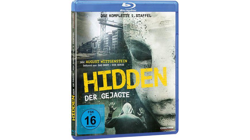 Hidden Der Gejagte Die komplette 1 Staffel Home Edition 2 BRs
