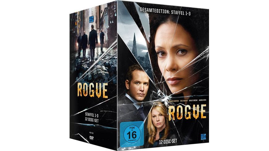 Rogue Gesamtedition Staffel 1 3 12 DVDs