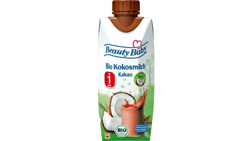 Beauty Baby Bio Kokosmilch Kakao zum Trinken ab dem 1 Lebensjahr