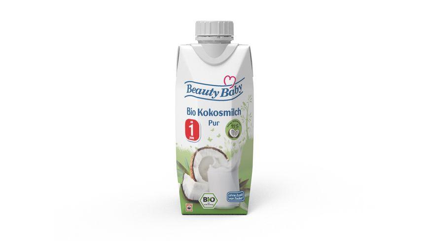 Beauty Baby Bio Kokosmilch Pur zum Trinken ab dem 1 Lebensjahr