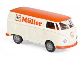 Wiking 078860 1 87 VW T1 TYP 2 MUeLLER