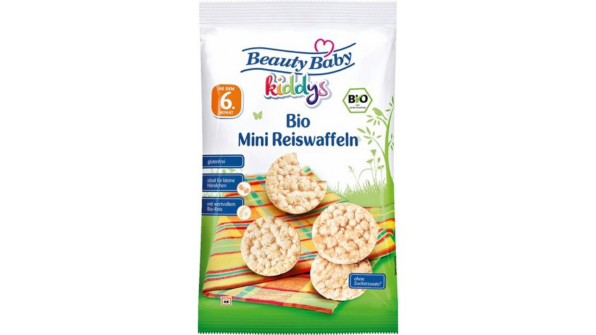 Beauty Baby Bio Mini Reiswaffeln Natur