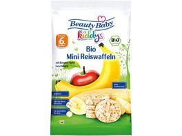 Beauty Baby Bio Mini Reiswaffeln Banane Apfel