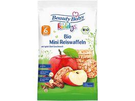 Beauty Baby Bio Mini Reiswaffeln Apfel Zimt