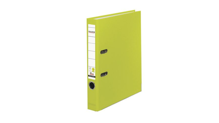 herlitz Ordner A4 4cm neon gruen