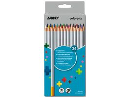 LAMY Buntstifte colorplus 24er Set