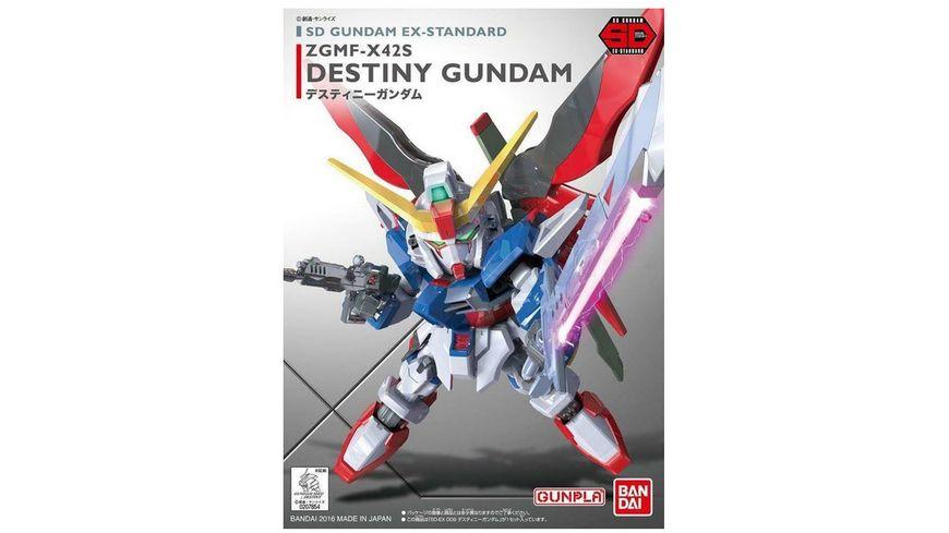 Bandai 009 DESTINY GUNDAM Bausatz