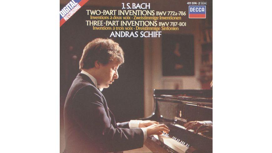 2 3 Inventionen BWV 772 801