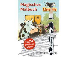 Lieselotte Magisches Malbuch Mit Bleistift