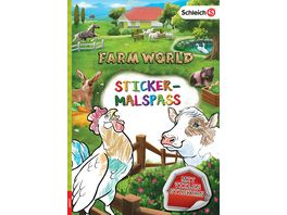 SCHLEICH Farm World Sticker Malspass
