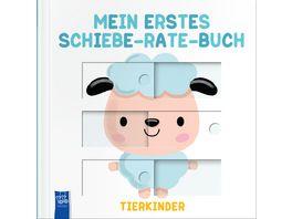 Mein erstes Schiebe Rate Buch Tierkinder