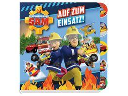 Feuerwehrmann Sam Auf zum Einsatz Pappbilderbuch mit Register