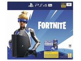 PS4 Konsole Black 1TB Fortnite Neo Versa Bund