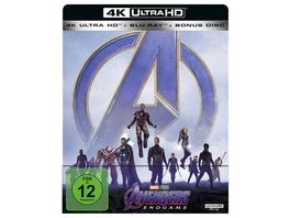 Marvel s The Avengers Endgame Steelbook 4K Ultra HD Blu ray 2D Bonus Disc