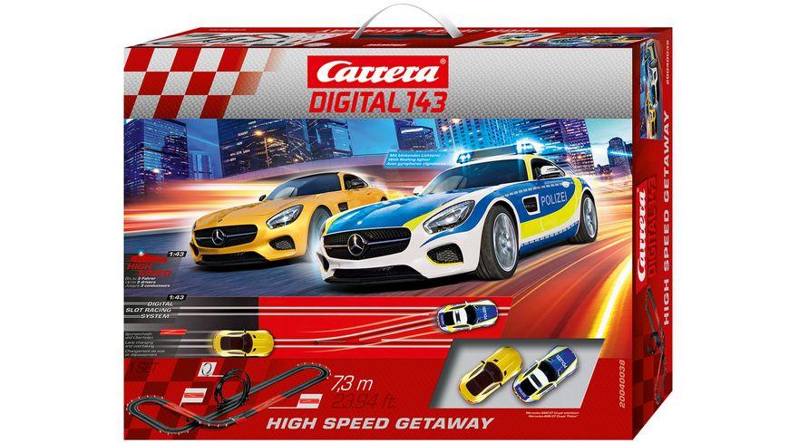 Carrera DIGITAL 143 High Speed Getaway