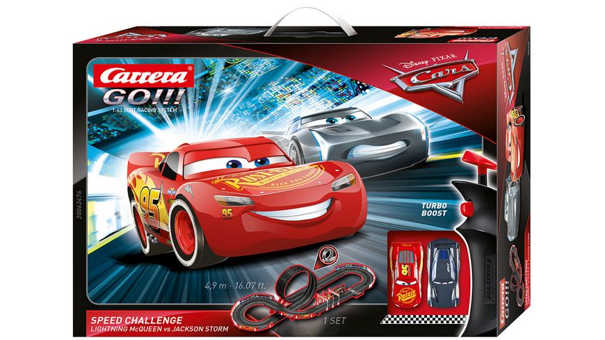 Carrera GO Disney Pixar Cars Speed Challenge