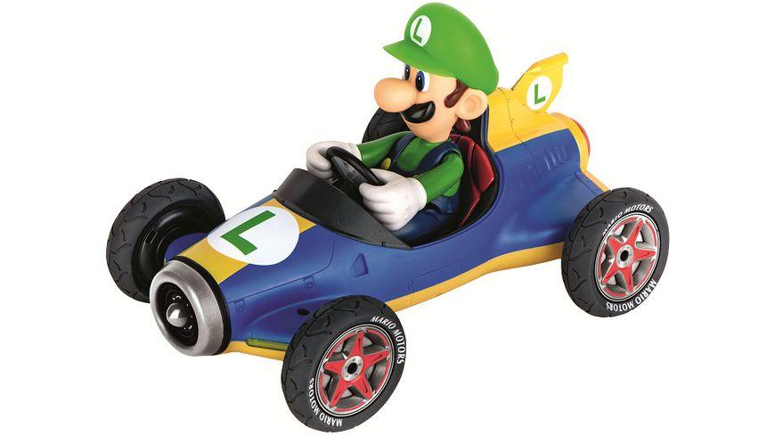 Carrera RC 2 4GHz Mario Kart TM Mach 8 Luigi