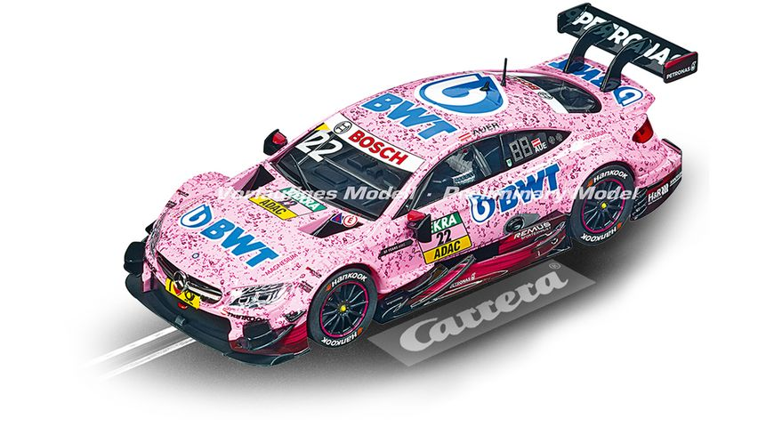 Carrera Evolution Mercedes AMG C 63 DTM L Auer No 22