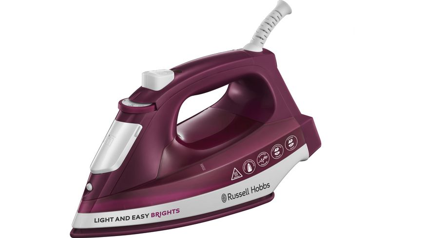Russell Hobbs Light & Easy Brights Mulberry Dampfbügeleisen 24820-56