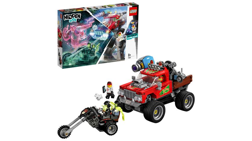 LEGO Hidden Side 70421 El Fuegos Stunt Truck
