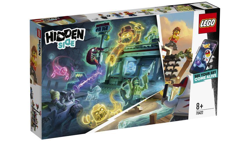 LEGO Hidden Side 70422 Angriff auf die Garnelenhuette