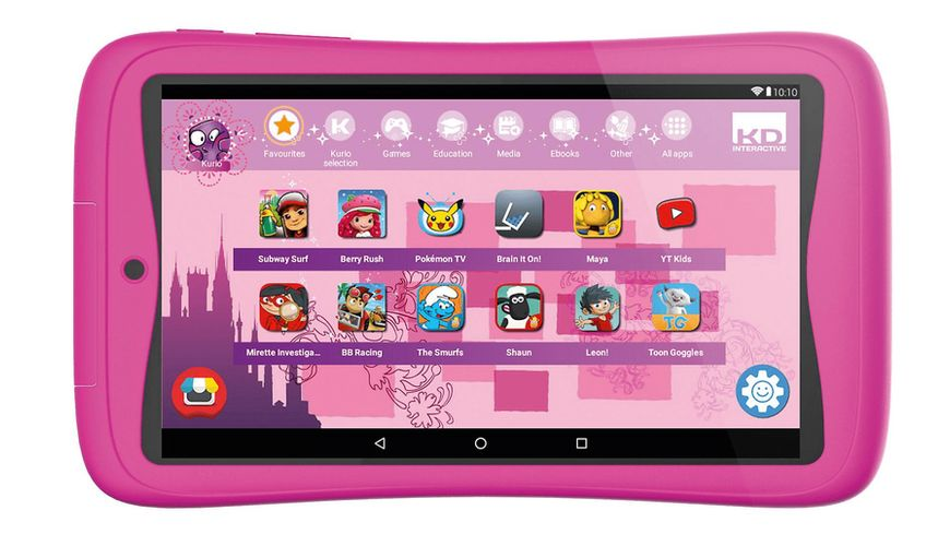 Kurio Tab Connect pink