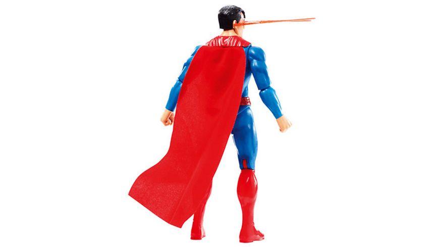 Mattel DC Justice League Superman mit Licht und Geraeuschen 30 cm