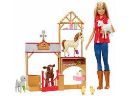Mattel Barbie Spass auf dem Bauernhof Vet