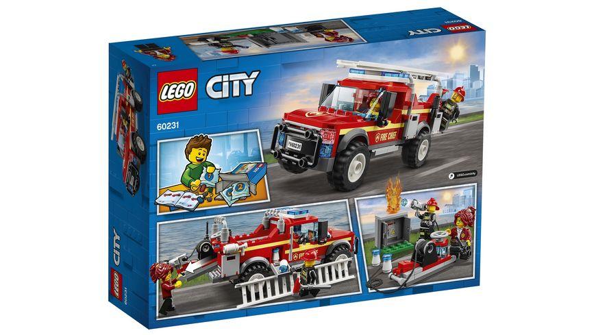 LEGO City 60231 Feuerwehr Einsatzleitung