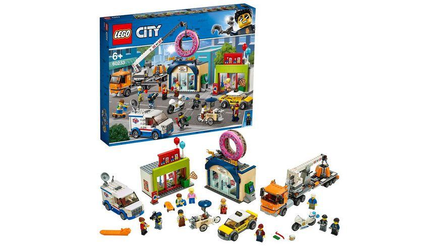 LEGO City 60233 Grosse Donut Shop Eroeffnung