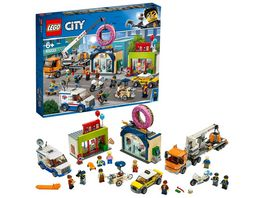 LEGO City 60233 Grosse Donut Shop Eroeffnung