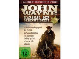 John Wayne Marshal der Gerechtigkeit 2 DVDs