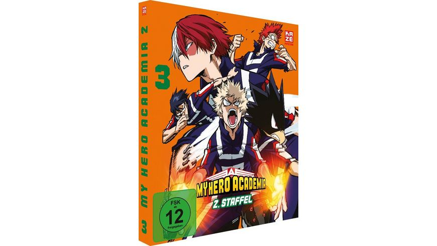 My Hero Academia 2 Staffel DVD 3