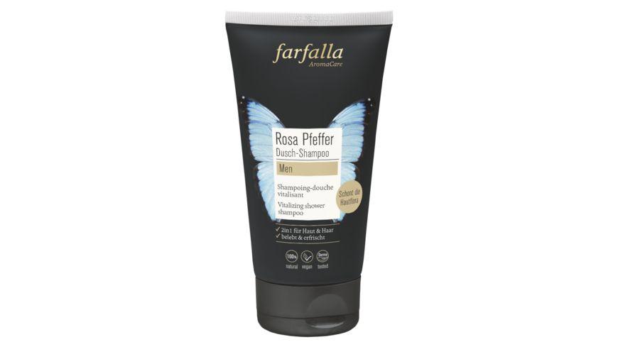 Farfalla men Rosa Pfeffer Vitalisierendes Dusch Shampoo