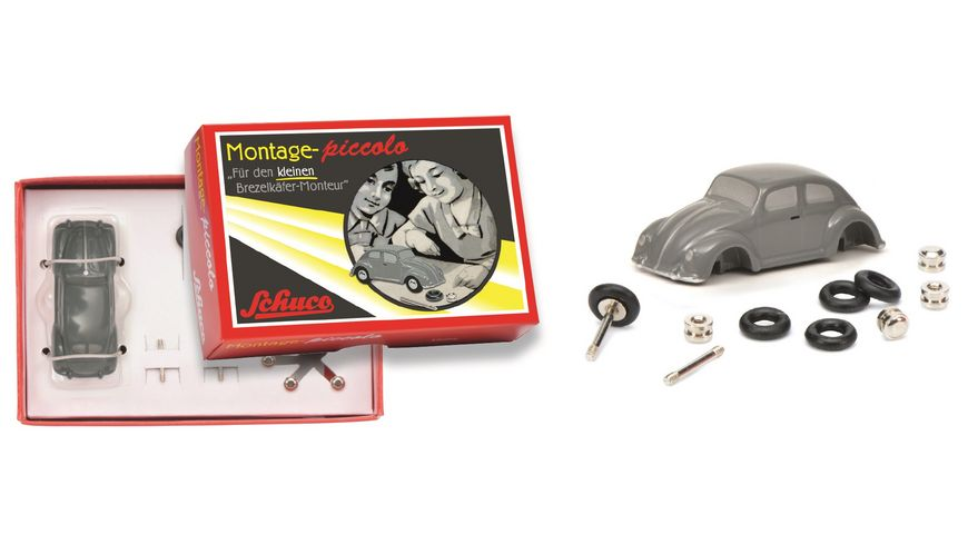 Schuco Piccolo Der kleine Brezelkaefer Monteur VW Brezelkaefer Piccolo Montagekasten