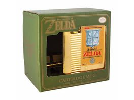 The Legend of Zelda goldener Modul Becher