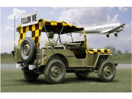 Italeri 510070390 Willys Jeep Follow me