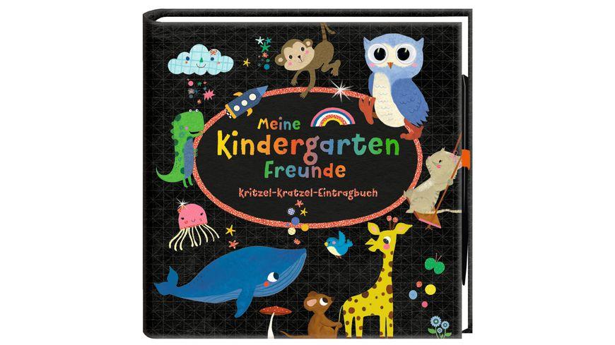 Die Spiegelburg - Meine Kindergartenfreunde -Kritzel-Kratzel-Eintragbuch