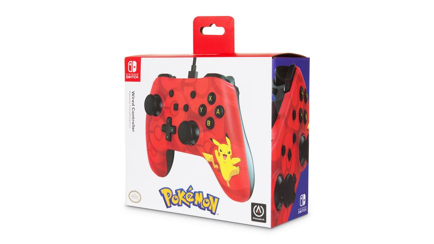 PowerA NSW Wired Controller Pikachu