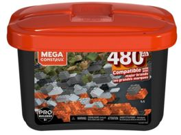 Mega Bloks Mega Construx Probuilder Box mit 480 Teile Mittlere Groesse