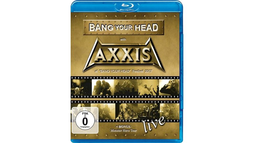 Bang Your Head With Axxis BluRay