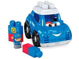 Fisher Price Mega Bloks Kleines Fahrzeug Polizeiauto
