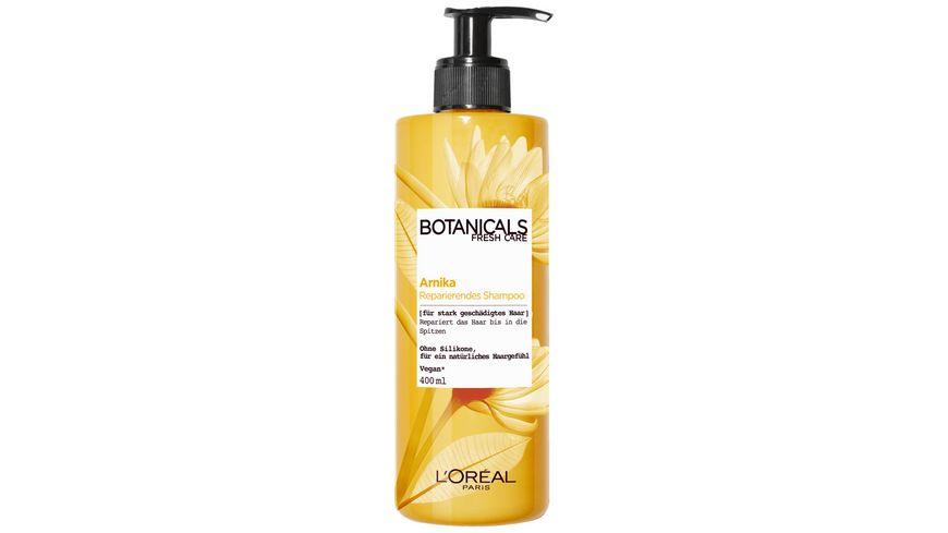 L Oreal Paris Botanicals Arnika Reparierendes Shampoo fuer geschaedigtes Haar